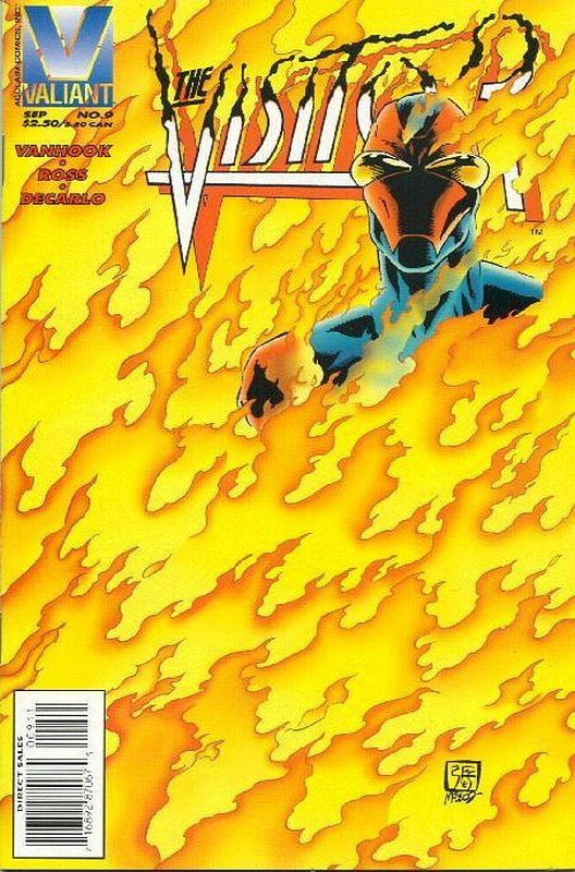Cover of Visitor (Vol 1) The #9. One of 250,000 Vintage American Comics on sale from Krypton!