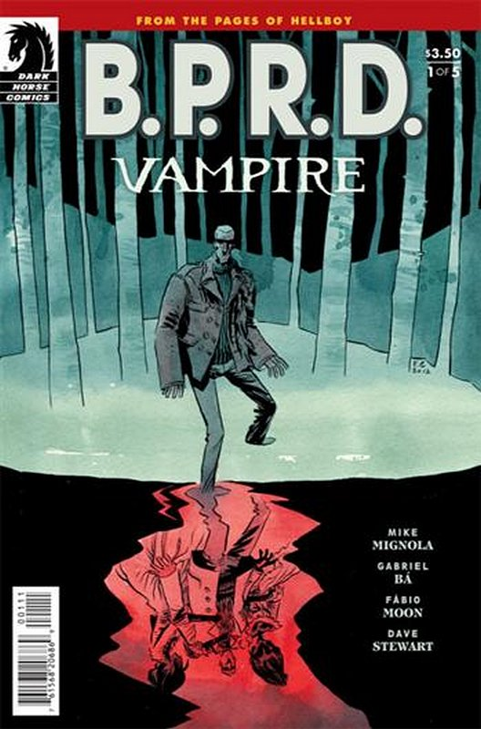 Cover of BPRD: Vampire (2013 Ltd) #1. One of 250,000 Vintage American Comics on sale from Krypton!