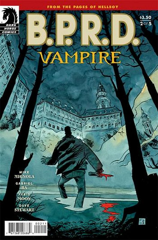 Cover of BPRD: Vampire (2013 Ltd) #2. One of 250,000 Vintage American Comics on sale from Krypton!