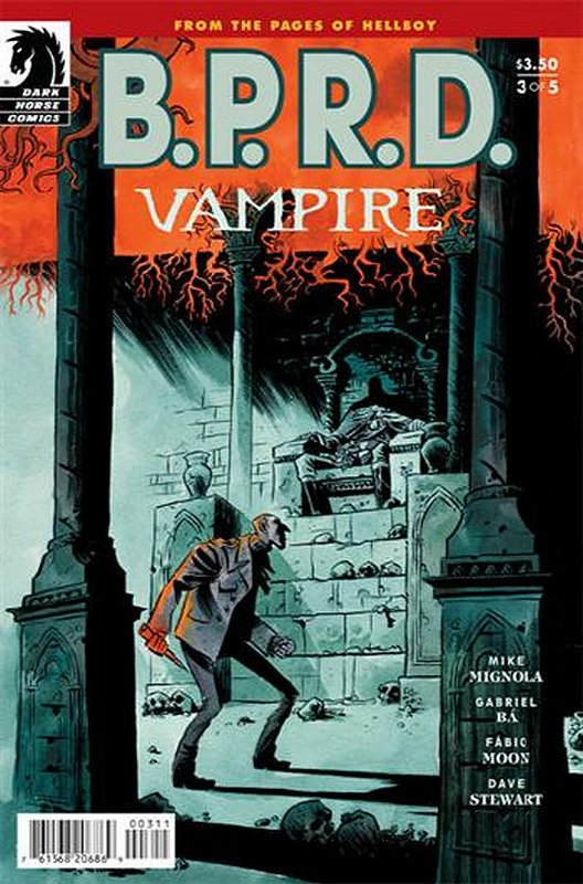 Cover of BPRD: Vampire (2013 Ltd) #3. One of 250,000 Vintage American Comics on sale from Krypton!