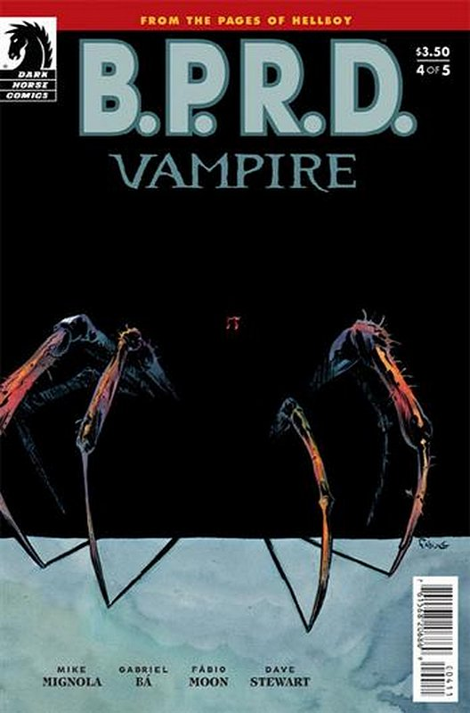 Cover of BPRD: Vampire (2013 Ltd) #4. One of 250,000 Vintage American Comics on sale from Krypton!