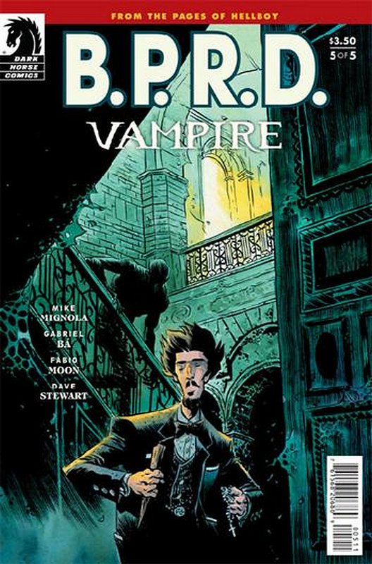 Cover of BPRD: Vampire (2013 Ltd) #5. One of 250,000 Vintage American Comics on sale from Krypton!