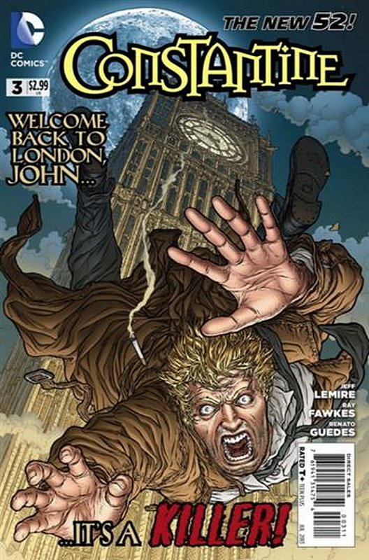 Cover of Constantine (Vol 1) #3. One of 250,000 Vintage American Comics on sale from Krypton!
