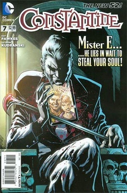 Cover of Constantine (Vol 1) #7. One of 250,000 Vintage American Comics on sale from Krypton!