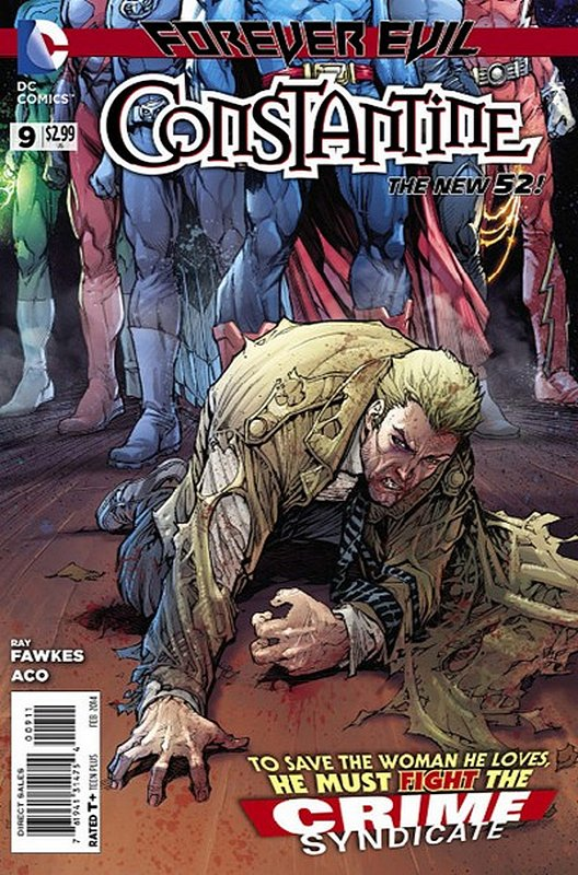 Cover of Constantine (Vol 1) #9. One of 250,000 Vintage American Comics on sale from Krypton!
