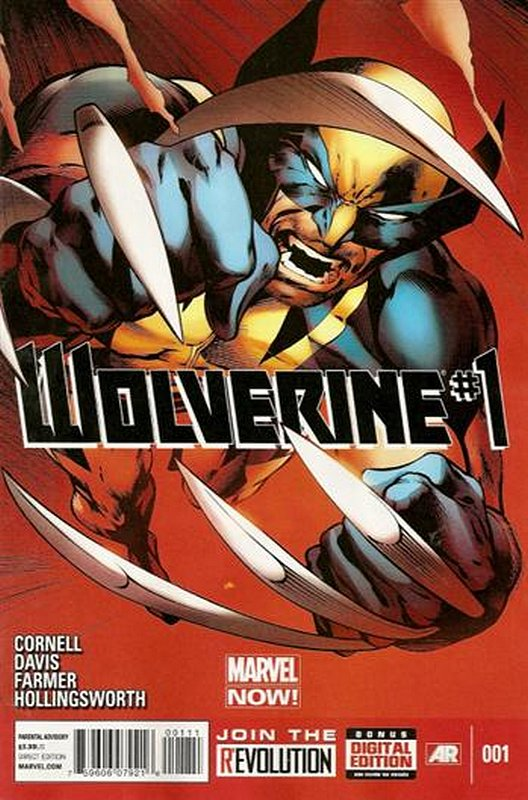 Cover of Wolverine (Vol 4) #1. One of 250,000 Vintage American Comics on sale from Krypton!