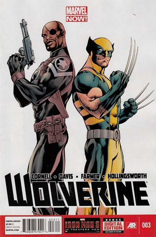 Cover of Wolverine (Vol 4) #3. One of 250,000 Vintage American Comics on sale from Krypton!