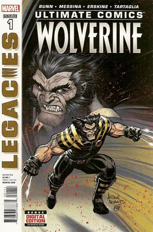 Cover of Ultimate Comics Wolverine (2013 Ltd) #1. One of 250,000 Vintage American Comics on sale from Krypton!