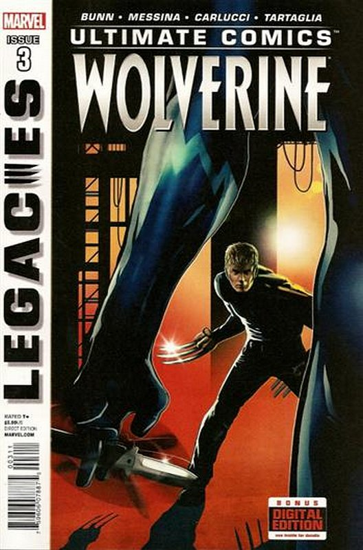 Cover of Ultimate Comics Wolverine (2013 Ltd) #3. One of 250,000 Vintage American Comics on sale from Krypton!