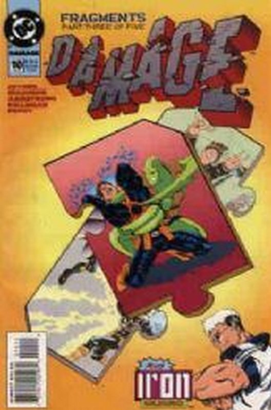 Cover of Damage (Vol 1) #10. One of 250,000 Vintage American Comics on sale from Krypton!