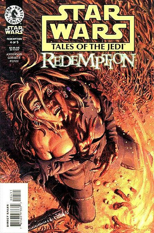 Cover of Star Wars: Tales of the Jedi-Redemption (1998 Ltd) #4. One of 250,000 Vintage American Comics on sale from Krypton!