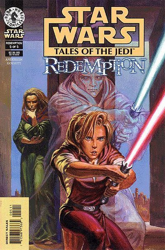 Cover of Star Wars: Tales of the Jedi-Redemption (1998 Ltd) #5. One of 250,000 Vintage American Comics on sale from Krypton!
