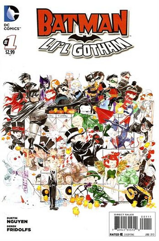Cover of Batman: Lil Gotham (Vol 1) #1. One of 250,000 Vintage American Comics on sale from Krypton!