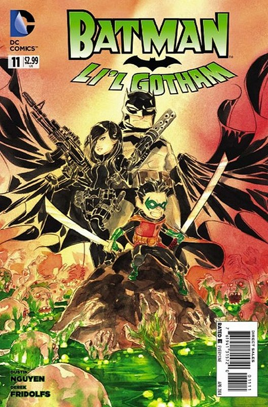 Cover of Batman: Lil Gotham (Vol 1) #11. One of 250,000 Vintage American Comics on sale from Krypton!