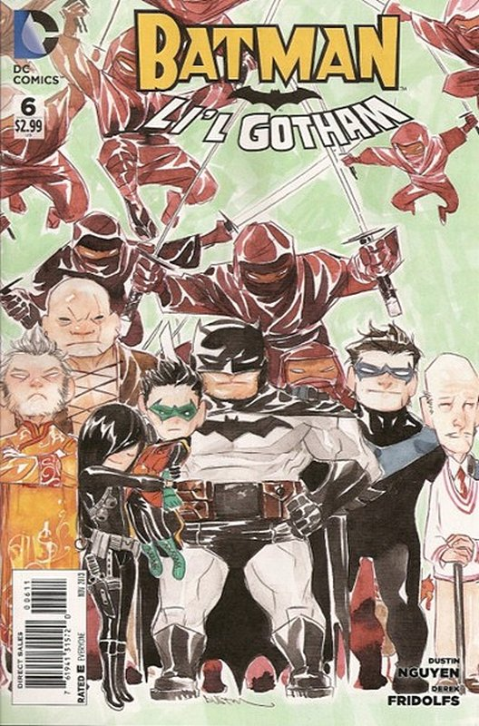 Cover of Batman: Lil Gotham (Vol 1) #6. One of 250,000 Vintage American Comics on sale from Krypton!