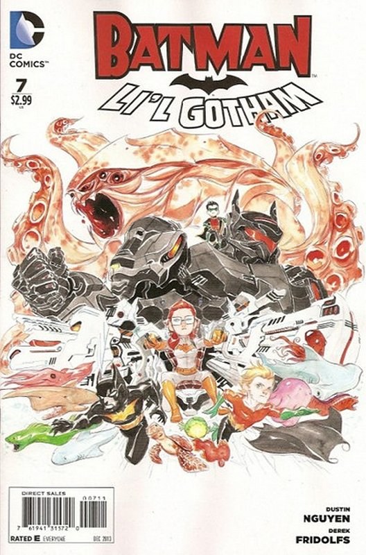 Cover of Batman: Lil Gotham (Vol 1) #7. One of 250,000 Vintage American Comics on sale from Krypton!