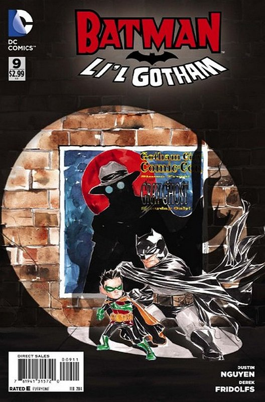 Cover of Batman: Lil Gotham (Vol 1) #9. One of 250,000 Vintage American Comics on sale from Krypton!