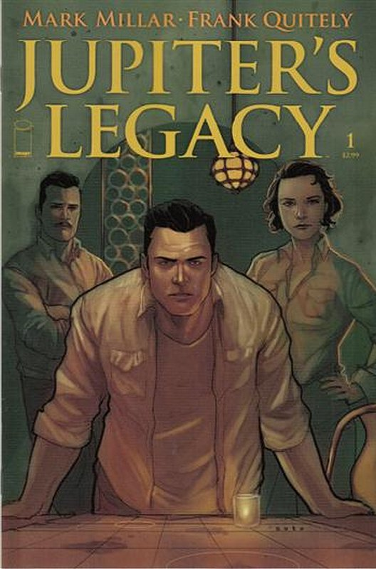 Cover of Jupiters Legacy (2013 Ltd) #1. One of 250,000 Vintage American Comics on sale from Krypton!
