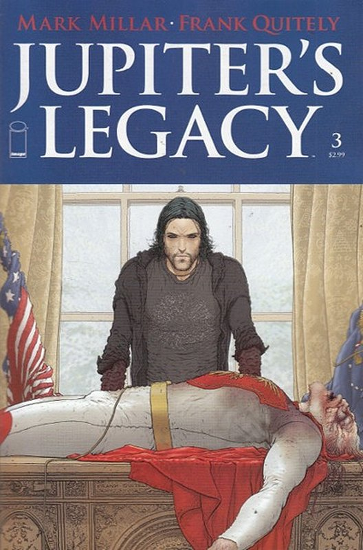 Cover of Jupiters Legacy (2013 Ltd) #3. One of 250,000 Vintage American Comics on sale from Krypton!