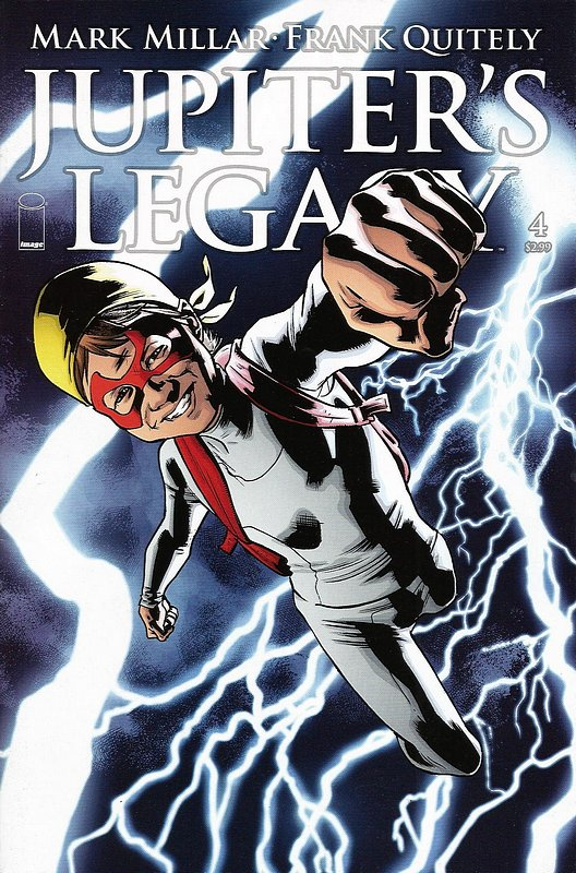 Cover of Jupiters Legacy (2013 Ltd) #4. One of 250,000 Vintage American Comics on sale from Krypton!
