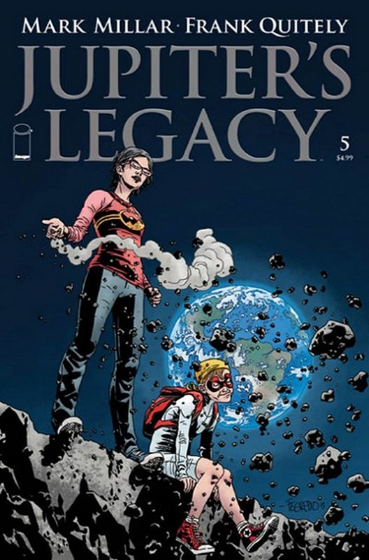 Cover of Jupiters Legacy (2013 Ltd) #5. One of 250,000 Vintage American Comics on sale from Krypton!