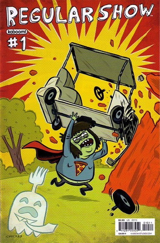 Cover of Regular Show (Vol 1) #1. One of 250,000 Vintage American Comics on sale from Krypton!