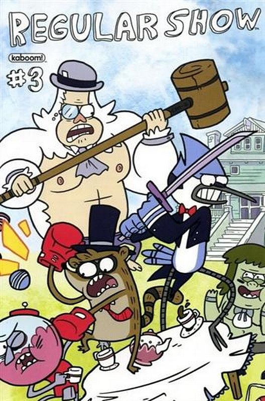 Cover of Regular Show (Vol 1) #3. One of 250,000 Vintage American Comics on sale from Krypton!