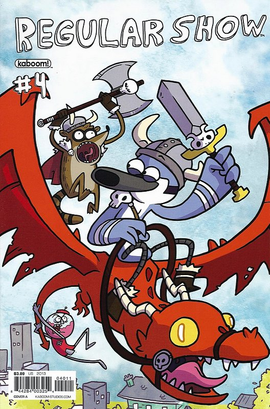 Cover of Regular Show (Vol 1) #4. One of 250,000 Vintage American Comics on sale from Krypton!