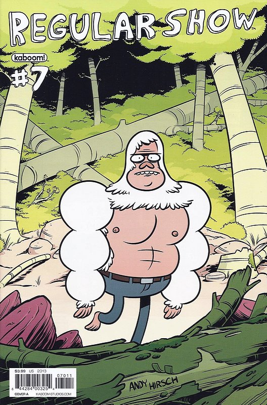 Cover of Regular Show (Vol 1) #7. One of 250,000 Vintage American Comics on sale from Krypton!