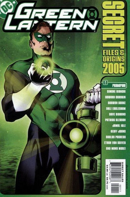 Cover of Green Lantern Secet Files & Origins 2005 #1. One of 250,000 Vintage American Comics on sale from Krypton!