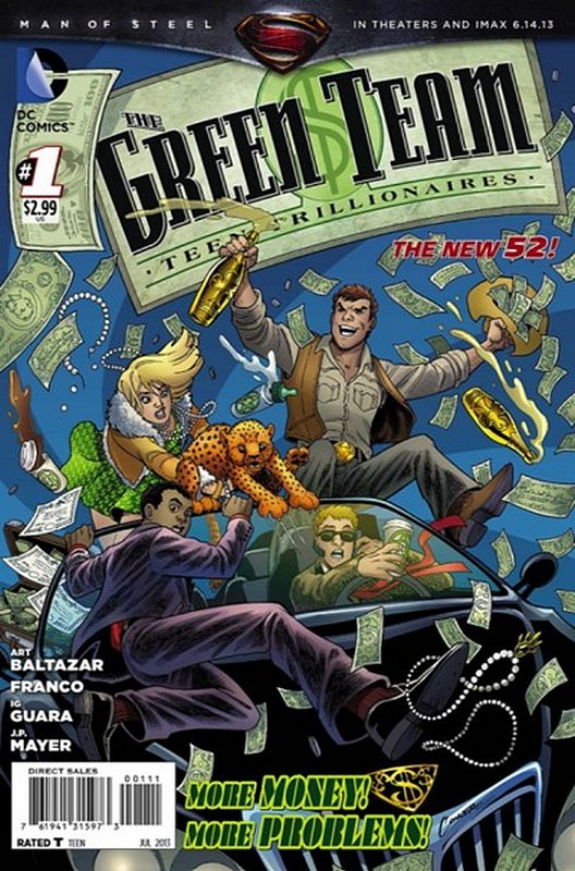Cover of Green Team (Vol 1) #1. One of 250,000 Vintage American Comics on sale from Krypton!
