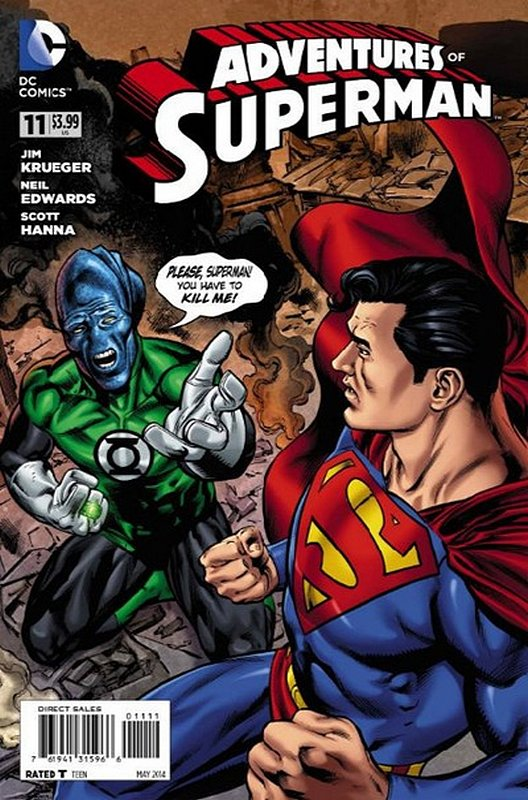 Cover of Adventures of Superman (Vol 2) #11. One of 250,000 Vintage American Comics on sale from Krypton!