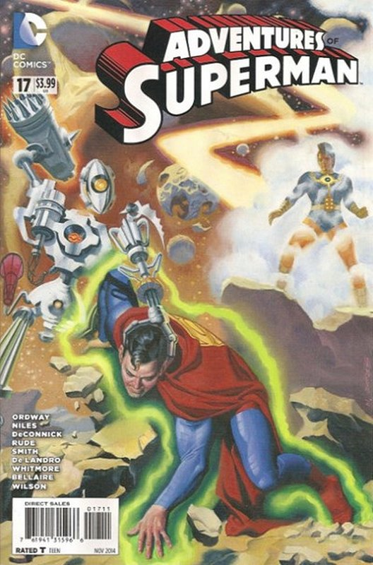 Cover of Adventures of Superman (Vol 2) #17. One of 250,000 Vintage American Comics on sale from Krypton!