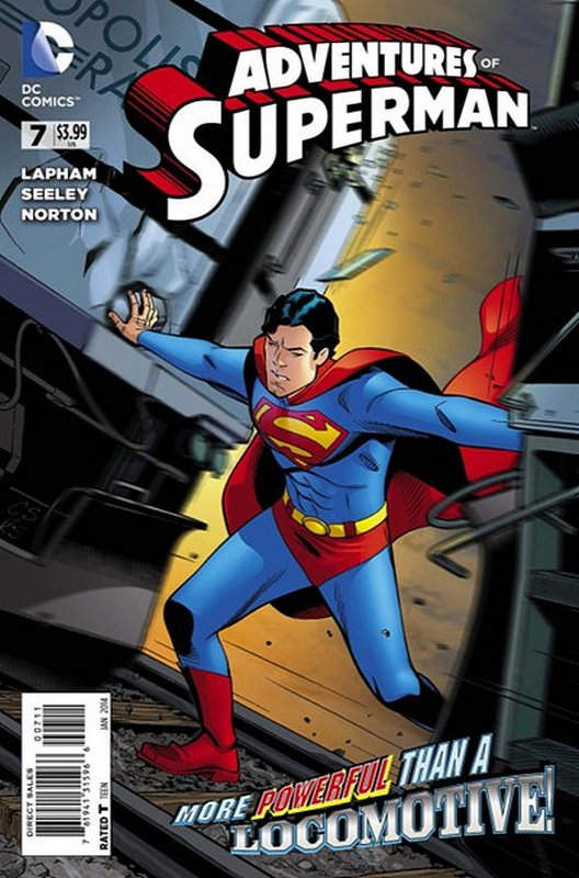 Cover of Adventures of Superman (Vol 2) #7. One of 250,000 Vintage American Comics on sale from Krypton!
