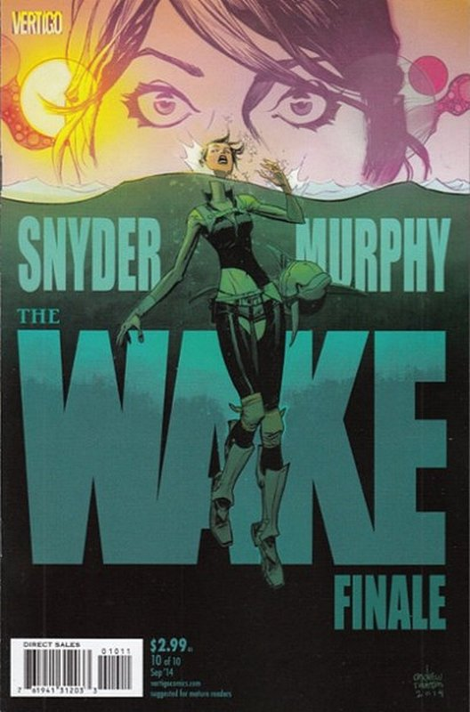 Cover of Wake (2013 Ltd) The #10. One of 250,000 Vintage American Comics on sale from Krypton!