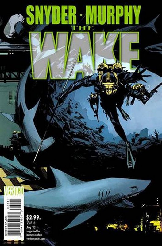Cover of Wake (2013 Ltd) The #2. One of 250,000 Vintage American Comics on sale from Krypton!