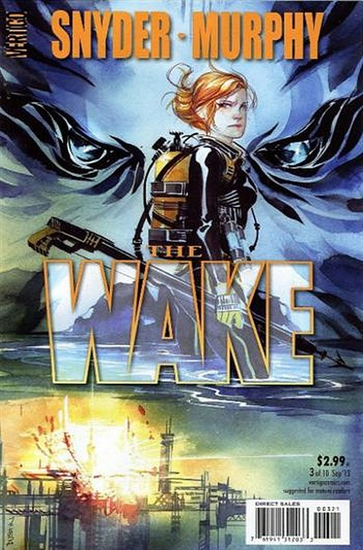 Cover of Wake (2013 Ltd) The #3. One of 250,000 Vintage American Comics on sale from Krypton!