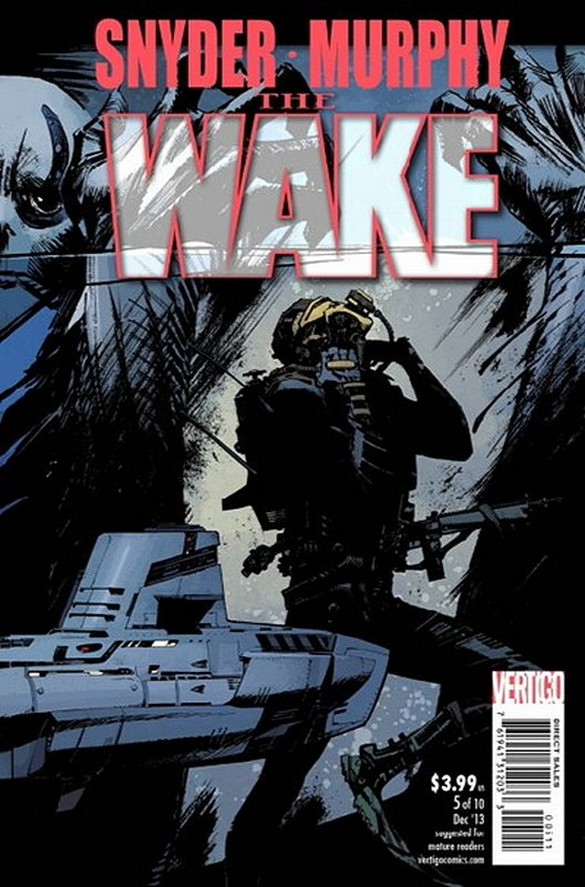 Cover of Wake (2013 Ltd) The #5. One of 250,000 Vintage American Comics on sale from Krypton!