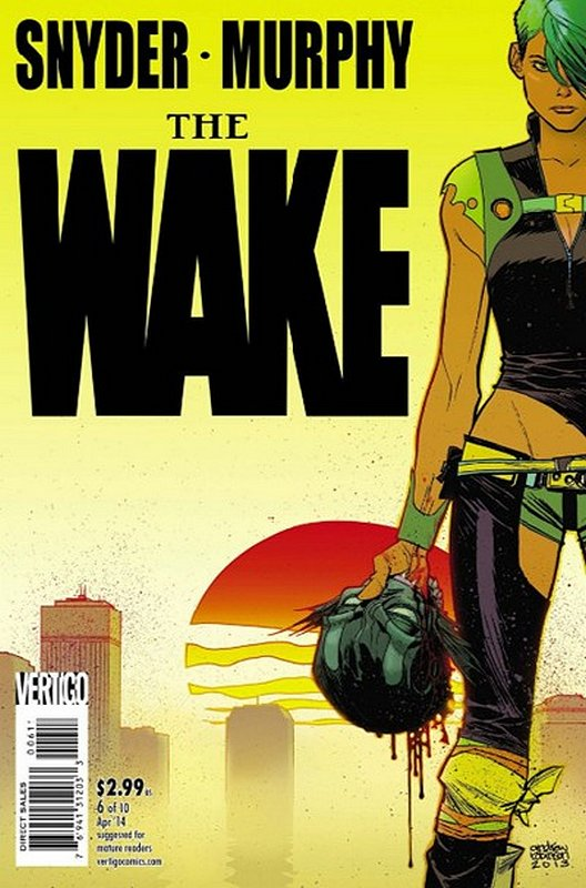 Cover of Wake (2013 Ltd) The #6. One of 250,000 Vintage American Comics on sale from Krypton!