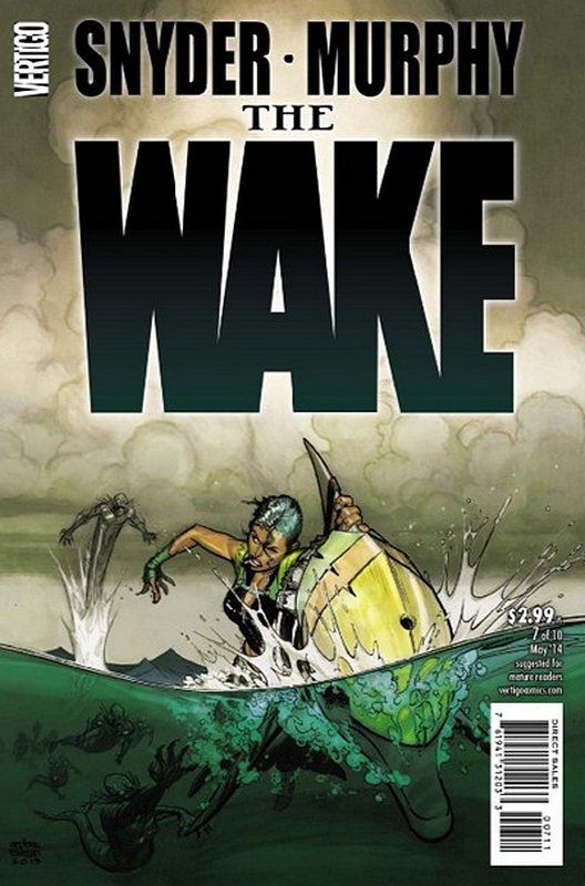 Cover of Wake (2013 Ltd) The #7. One of 250,000 Vintage American Comics on sale from Krypton!