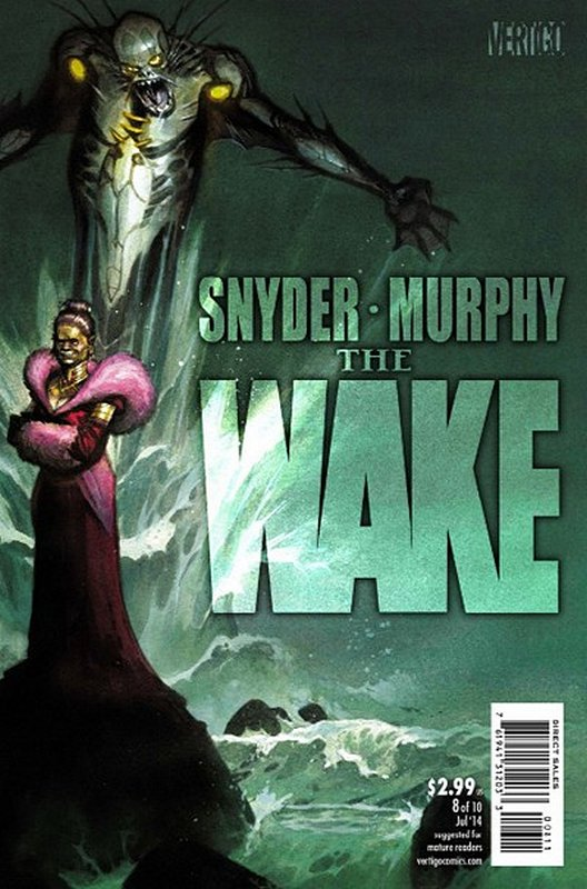 Cover of Wake (2013 Ltd) The #8. One of 250,000 Vintage American Comics on sale from Krypton!