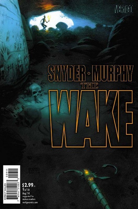 Cover of Wake (2013 Ltd) The #9. One of 250,000 Vintage American Comics on sale from Krypton!