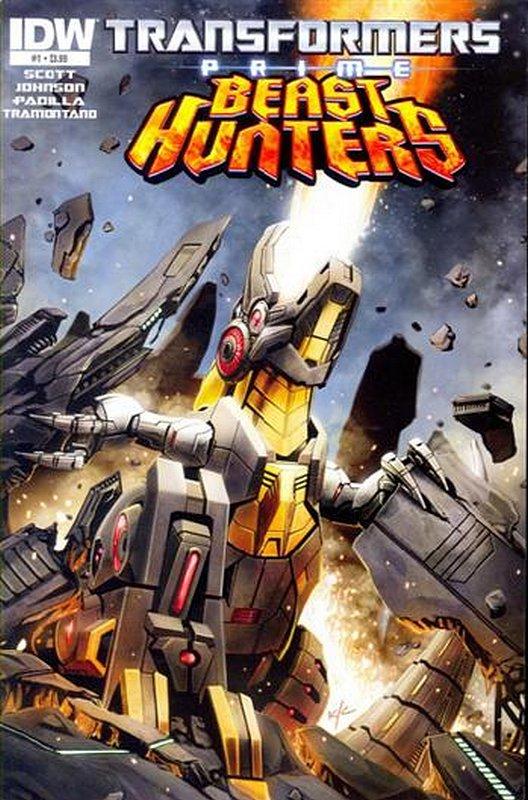 Cover of Transformers Prime: Beast Hunters (2013 Ltd) #1. One of 250,000 Vintage American Comics on sale from Krypton!