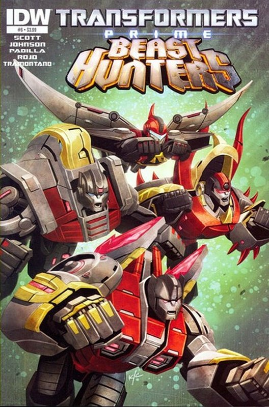 Cover of Transformers Prime: Beast Hunters (2013 Ltd) #6. One of 250,000 Vintage American Comics on sale from Krypton!