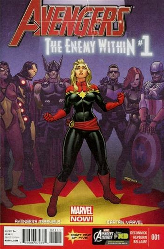 Cover of Avengers: Enemy Within (2013 One Shot) #1. One of 250,000 Vintage American Comics on sale from Krypton!
