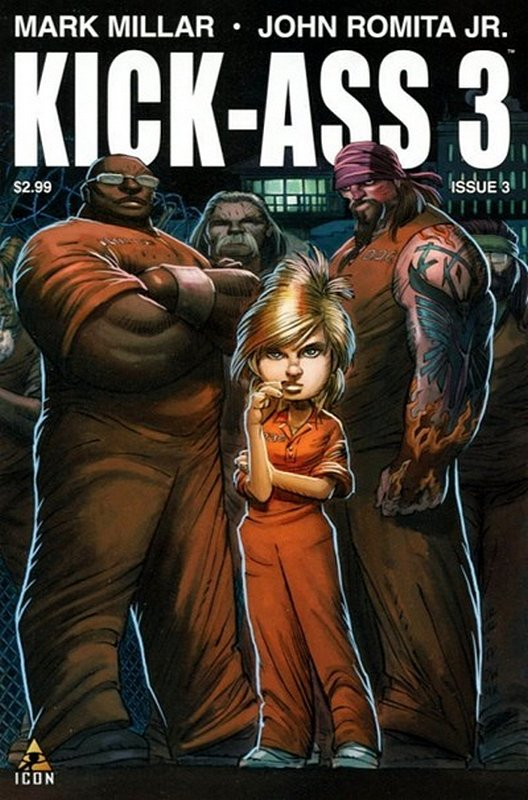 Cover of Kick-Ass (2013 Ltd) #3. One of 250,000 Vintage American Comics on sale from Krypton!