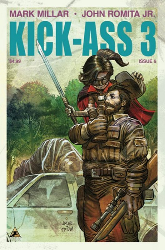 Cover of Kick-Ass (2013 Ltd) #6. One of 250,000 Vintage American Comics on sale from Krypton!