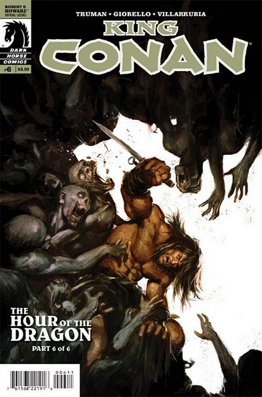 Cover of King Conan: Hour of the Dragon (2013 Ltd) #6. One of 250,000 Vintage American Comics on sale from Krypton!