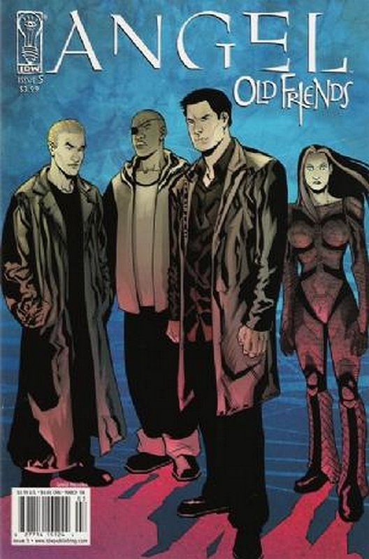 Cover of Angel: Old Friends (2006 Ltd) #5. One of 250,000 Vintage American Comics on sale from Krypton!