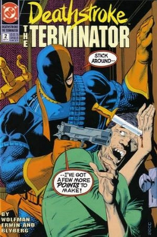 Cover of Deathstroke (Vol 1) The Terminator #2. One of 250,000 Vintage American Comics on sale from Krypton!